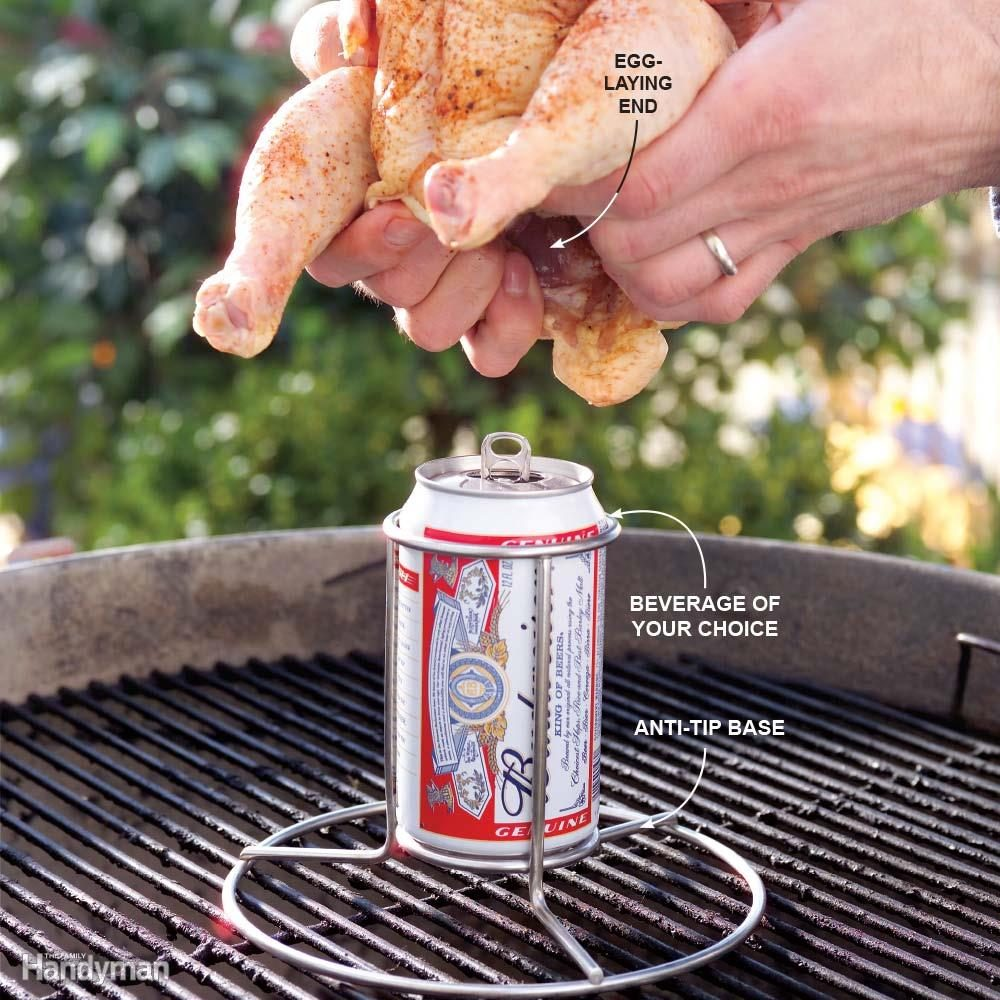 Beer Can Chicken Accessories