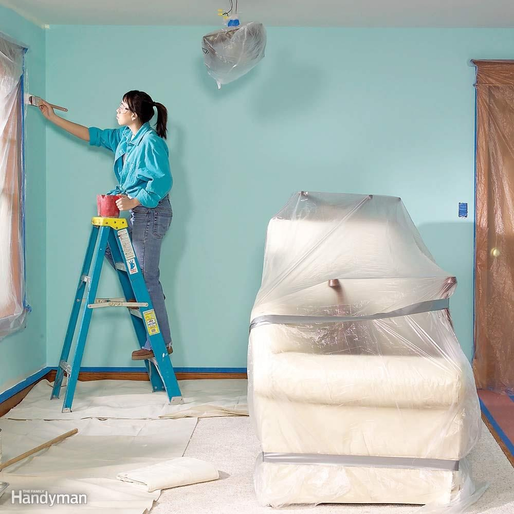Paint a Room Without Making a Mess! | Family Handyman on