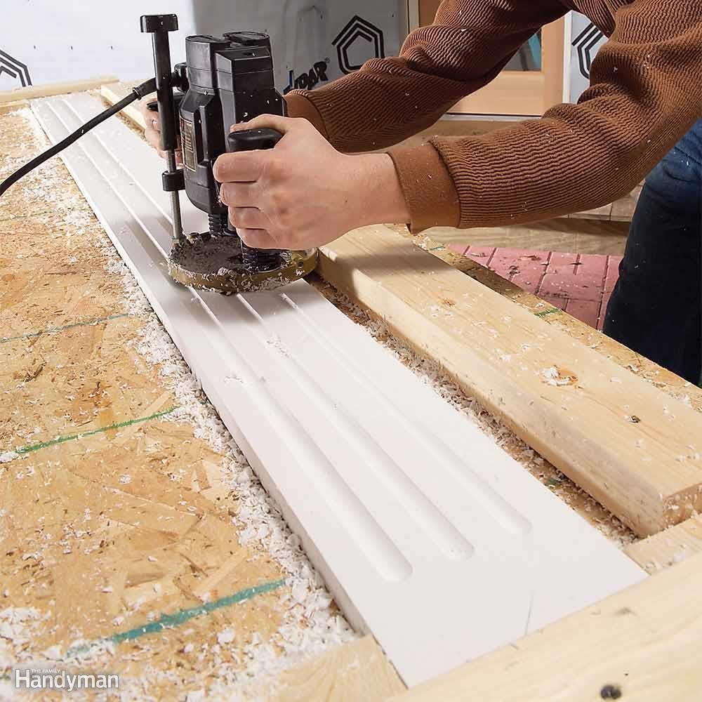 Rout Profiles with Carbide-Tipped Router Bits