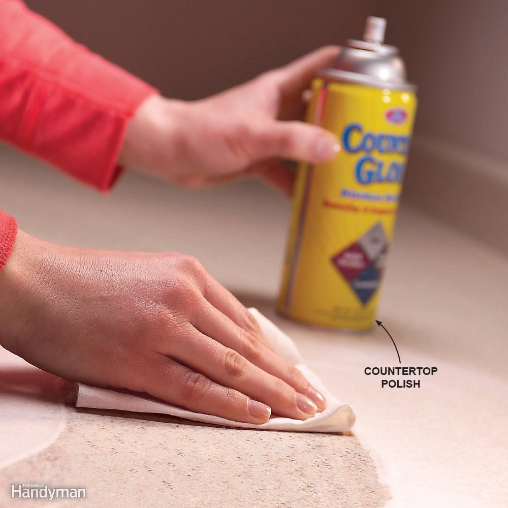 Stop Countertop Stains with a Protective Coating