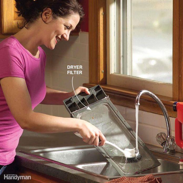 Heat Up a Lukewarm Dryer