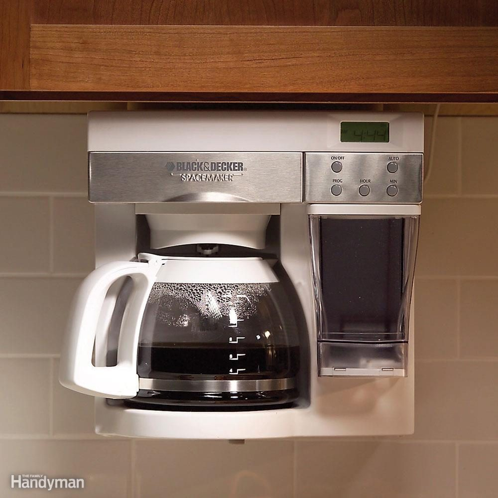 Tucked Away Coffeemaker