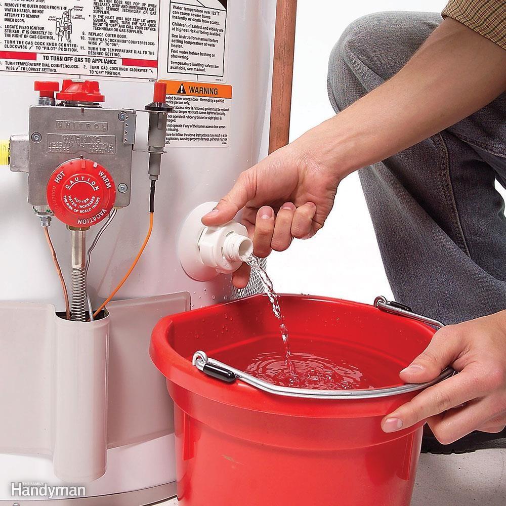 Проверьте свой водонагреватель