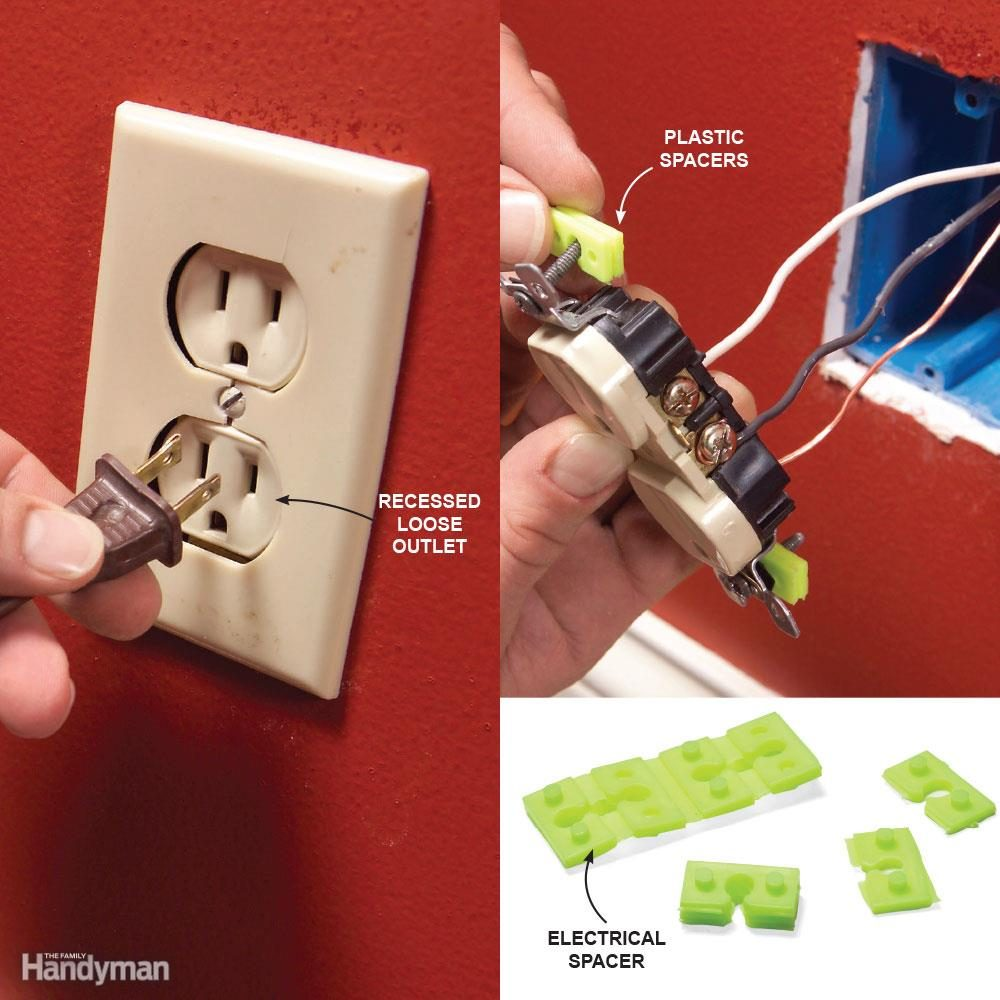 Top 10 Electrical Mistakes The Family Handyman How To Put In A 240v Outlet Mistake 4 Poor Support For Outlets And Switches