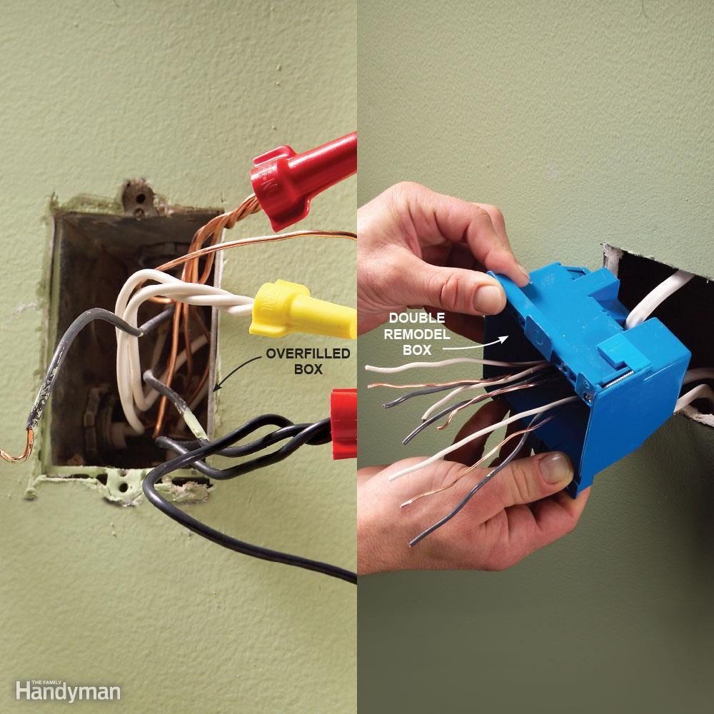 top 10 electrical mistakes family handyman rh familyhandyman com electrical wiring books electric wiring box pools