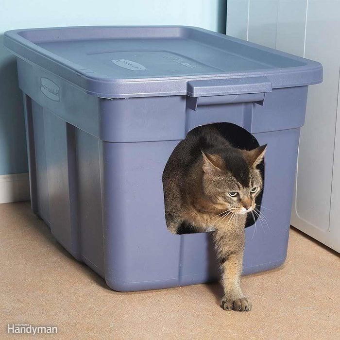 No-Mess Litter Box