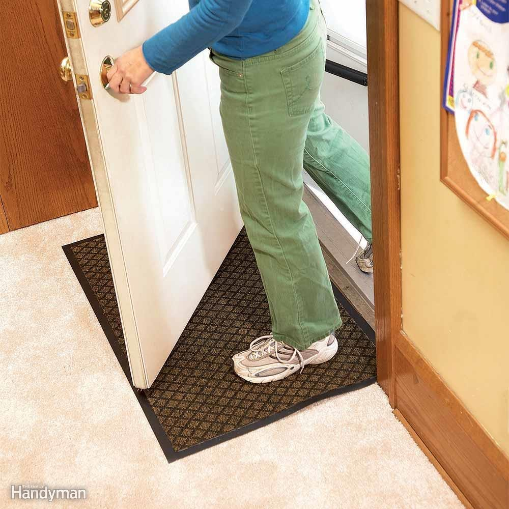 Get a Water-Absorbent Mat