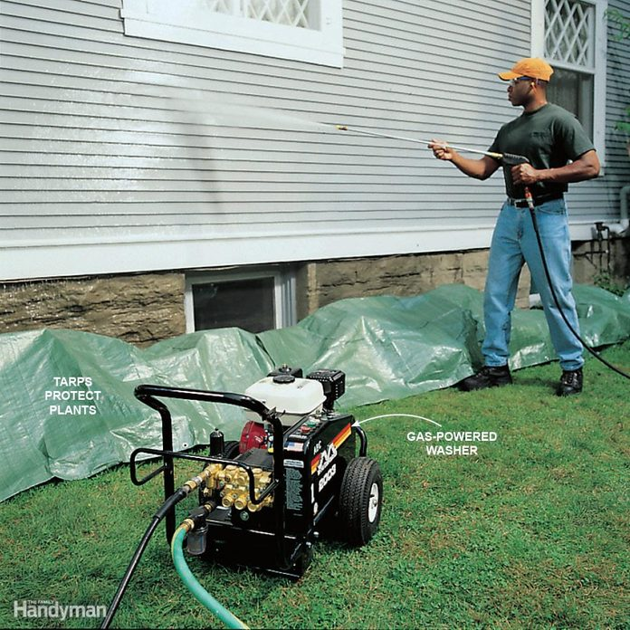 Speed-Clean with a Pressure Washer