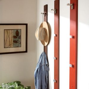 Simple Coat Rack and Hat Rack