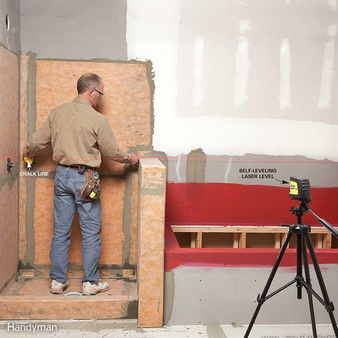 Plan Layouts With a Laser Level