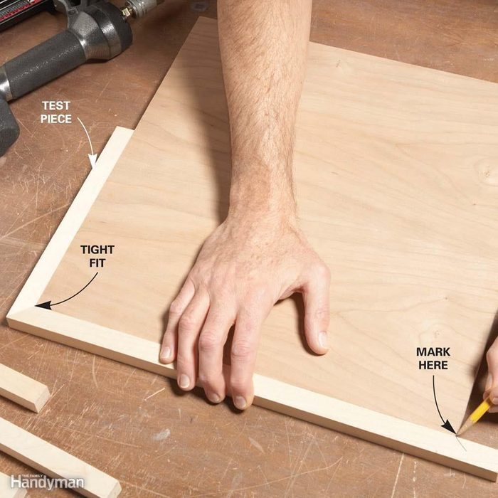 14 Expert Tips For Tight Miters The, How To Measure Angle Cuts For Laminate Flooring