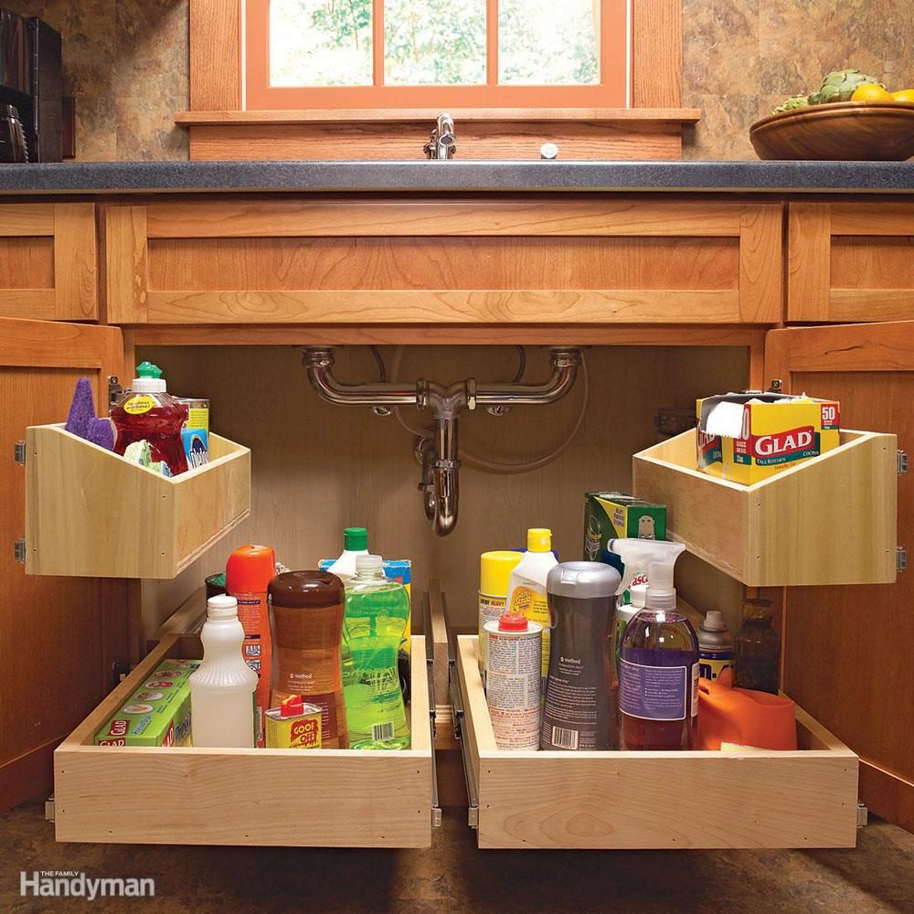 7 Roll Out Cabinet Drawers You Can Build Yourself Family