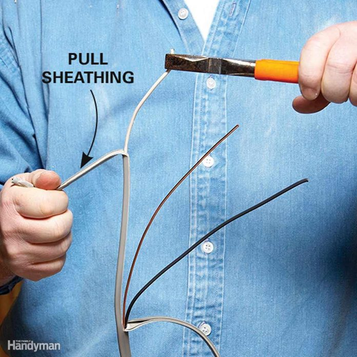 Strip Off Sheathing