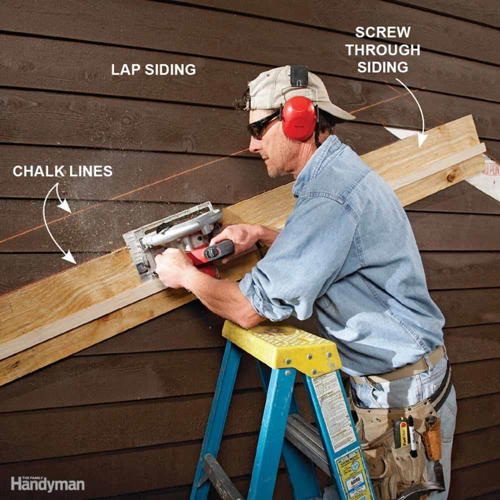 Perfect, Painless Siding Cuts