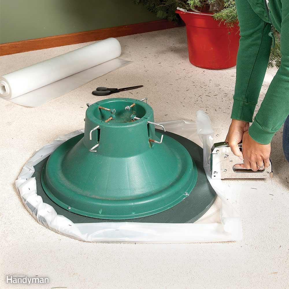 Tip-Proof, Drip-Proof Lazy Susan for Carpet