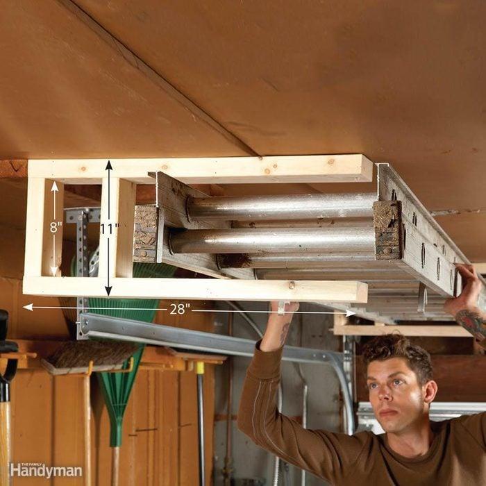 Extension Ladder Storage