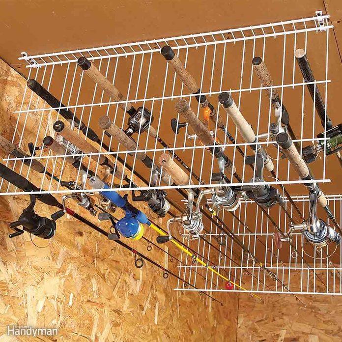 Fishing Rod Storage