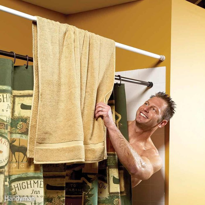 Free Space for an Extra Towel Bar