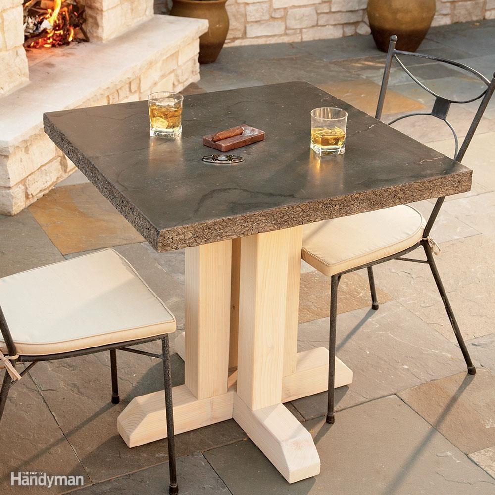 Elegant Outdoor Table