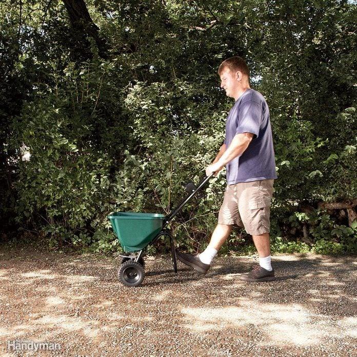 Step 10: Add mulch or grass seed accelerator