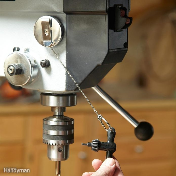 Drill Press Key Control