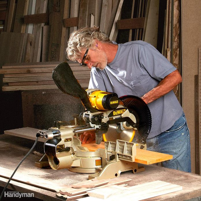 Sliding Miter Saw Features