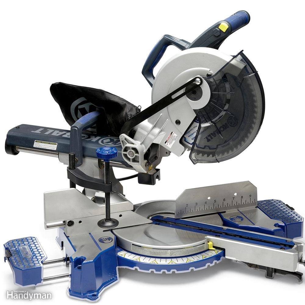 Sliding Miter Saw Review: Kobalt