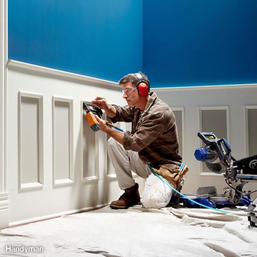 Add Classic Wainscoting