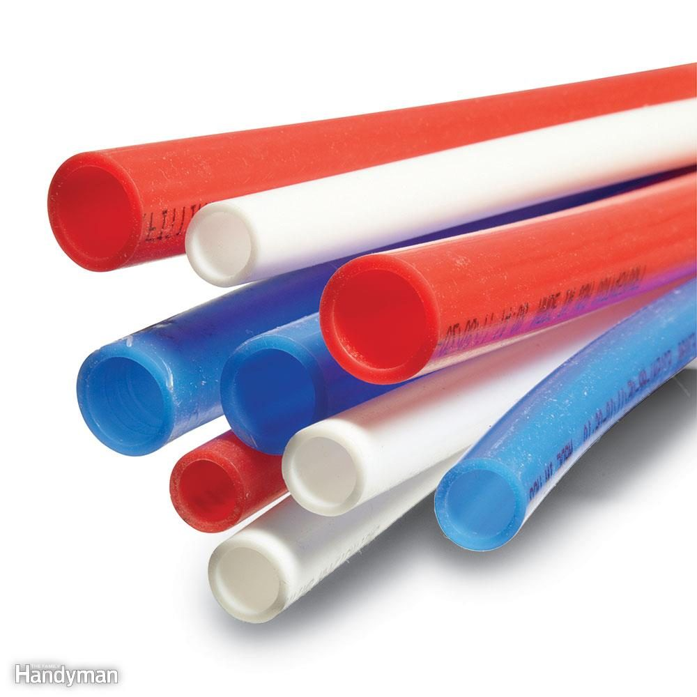 Pex supply pipe everything you need to know the family for Plastic water pipe