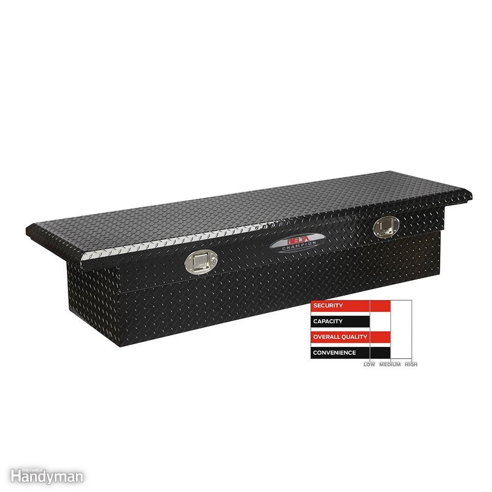 Delta Champion No. 351-002 Black Aluminum Cross Box