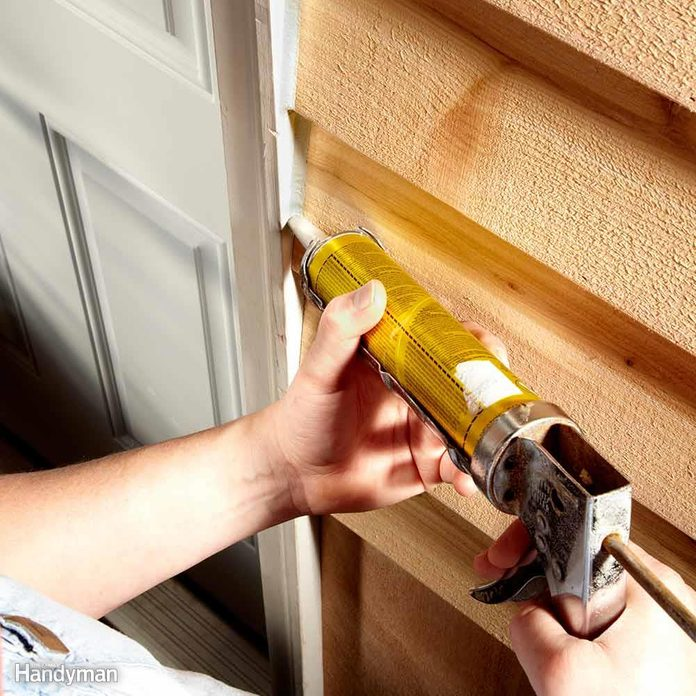 How to Use a Caulk Gun: Ride the Tip on the Smooth Surface