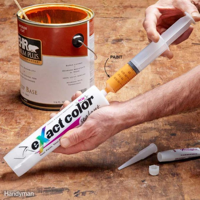 Caulk in Any Color