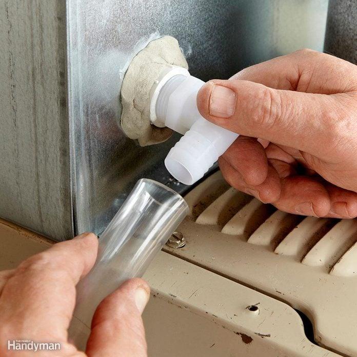 clear condensate drain tube