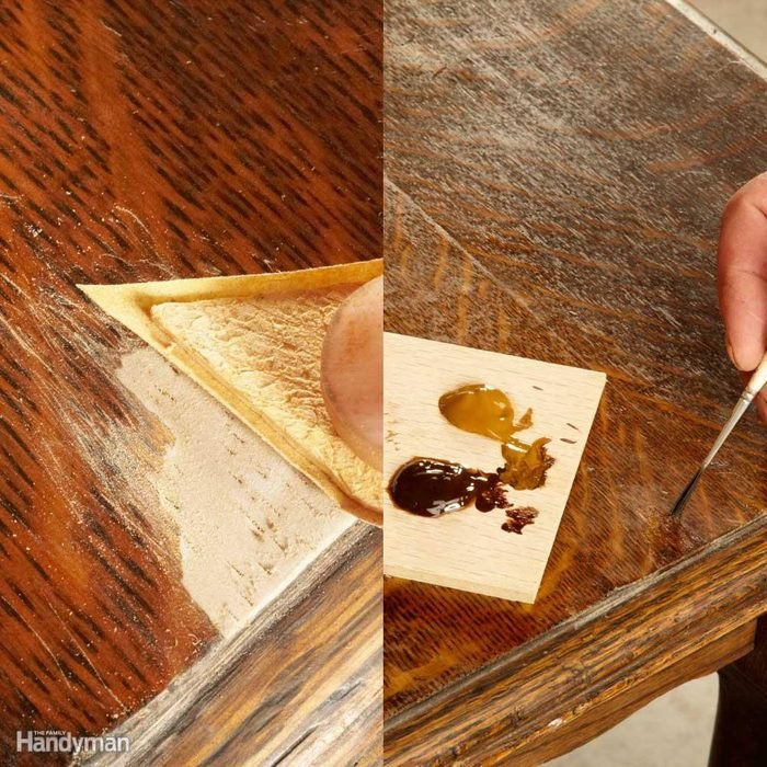 Replace Missing Wood: Finish the Epoxy