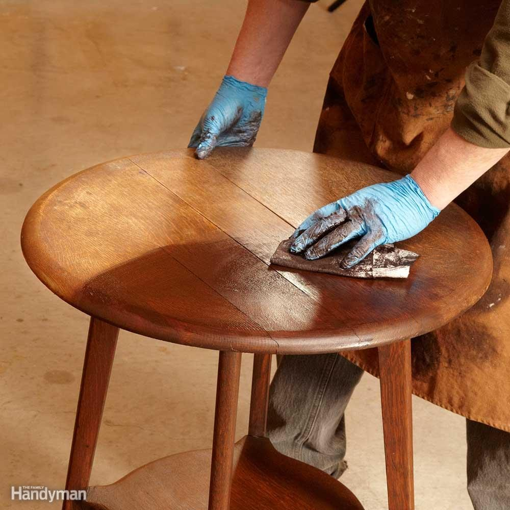 Restore the Color with Gel Stain