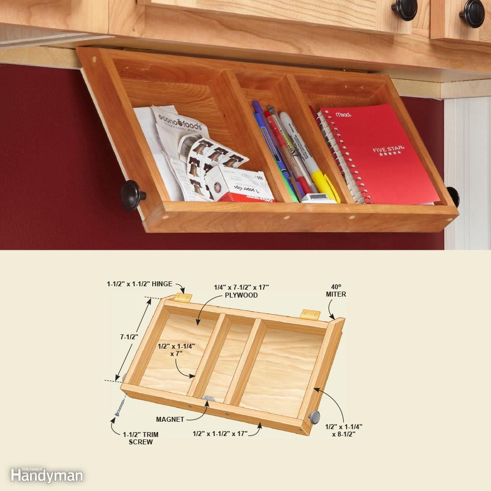 Flip-Down Paper Tray