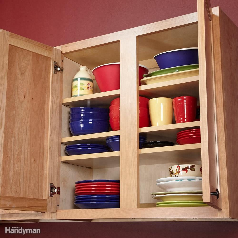 Kitchen Storage: Add a Shelf
