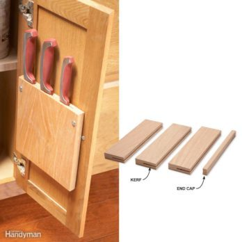 Kitchen ideas: Quick & simple knife block