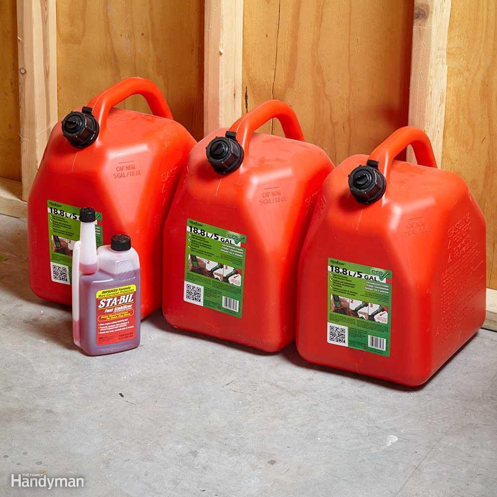 Buy Gas Cans When You Buy the Generator