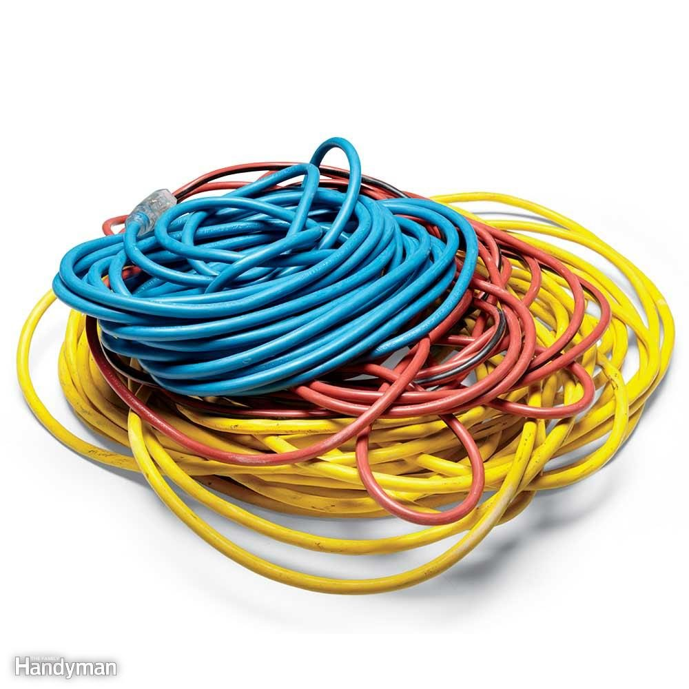 You'll Need Heavy-Duty Extension Cords