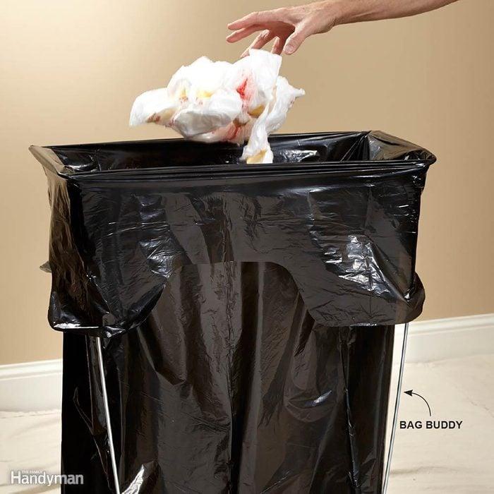 Keep a Garbage Bag Close at Hand