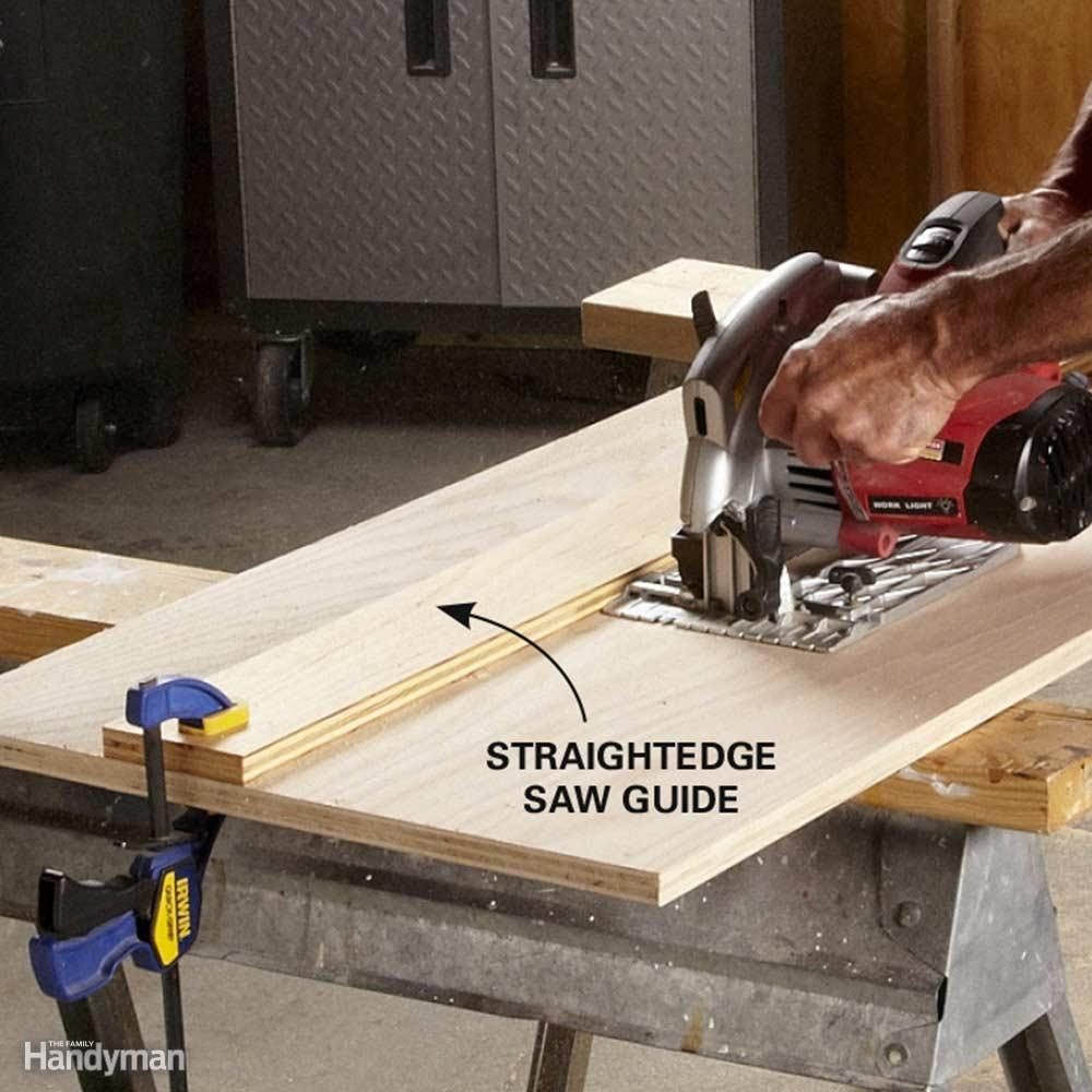 Make Table Saw Quality Rips With a Circular Saw. Tips for Ripping Wood