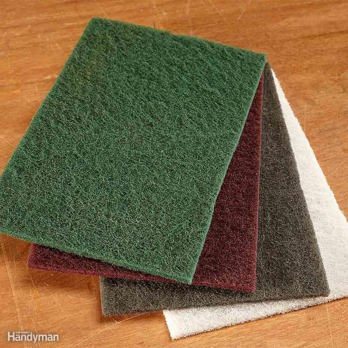 Use Synthetic Abrasives, Not Steel Wool
