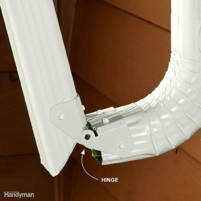 Downspout in the Way