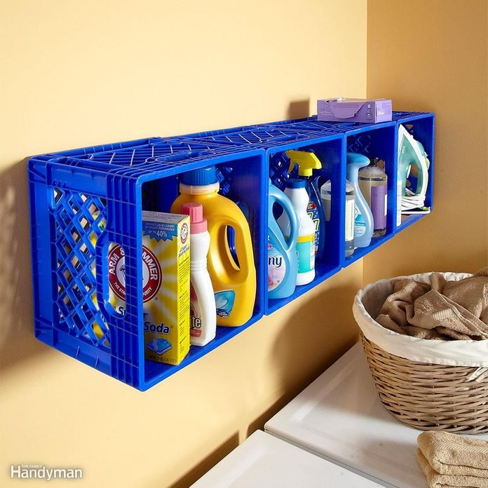 Instant Laundry Room Cubbies