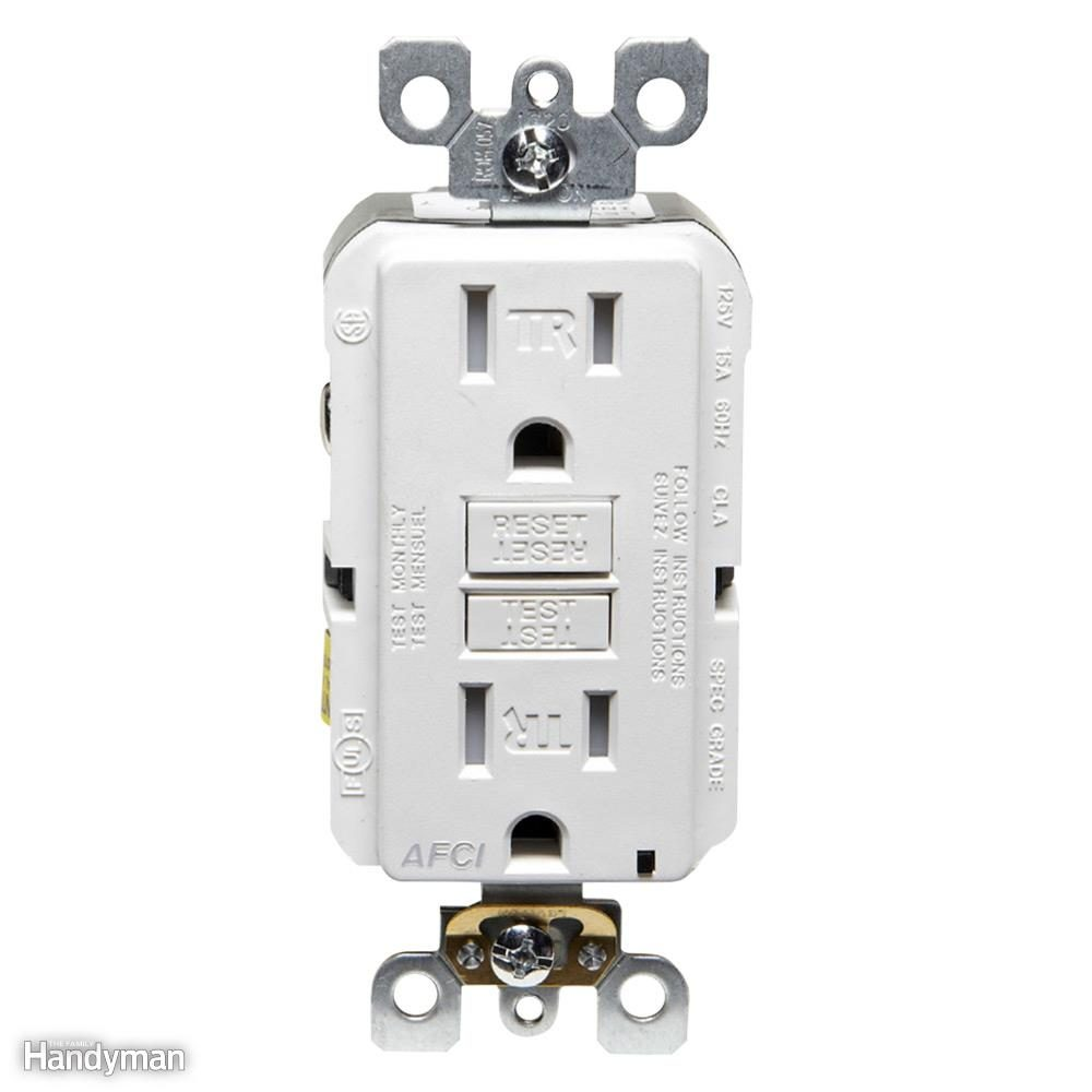 Wiring A Switch And Outlet The Safe Easy Way Family Handyman Wire Light From Socket Arc Fault Circuit Interrupter
