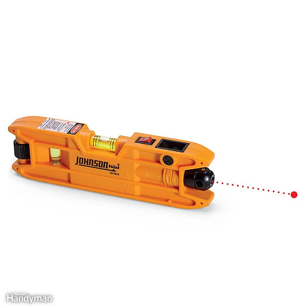 How To Use A Laser Level The Family Hanydman The