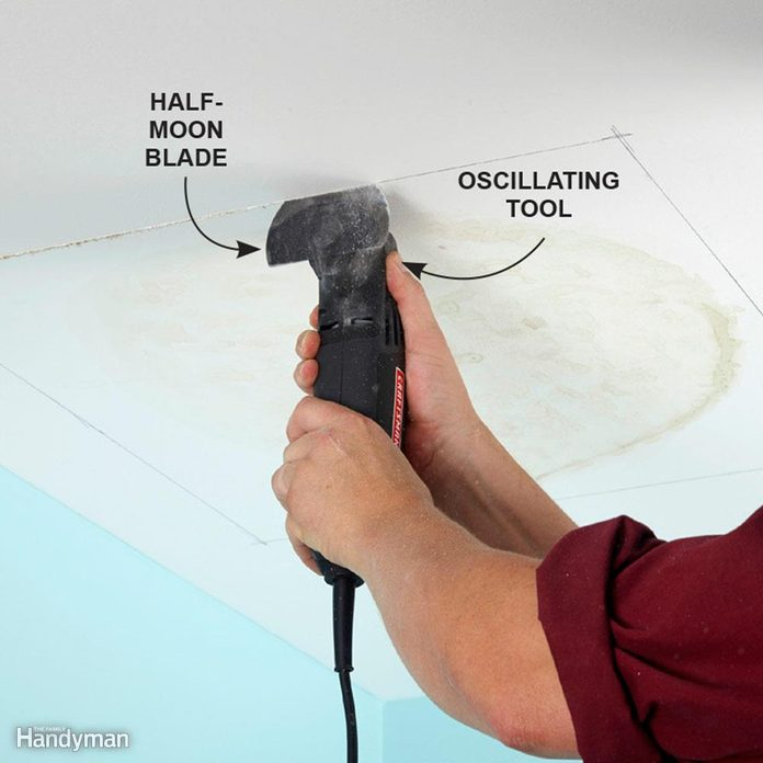 Slice Up Drywall With a Multitool