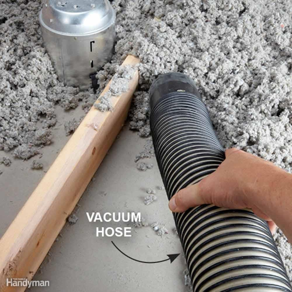 Suck Out Insulation