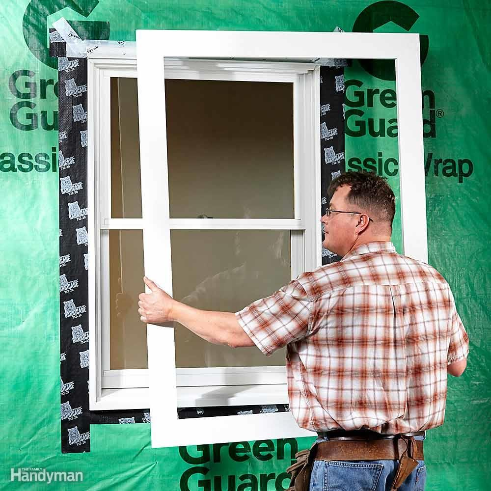 Preassemble Window and Door Trim
